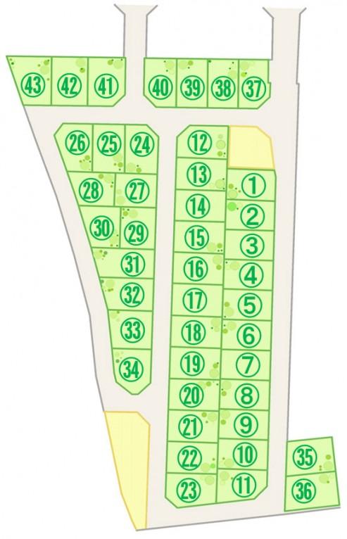 サンシャイン菩提寺 区画図